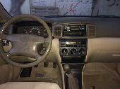 سياره كورولا موديل 2002 للبيع