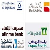خدمات حجز مواعيد وفتح حساب لدى البنوك الأتيه