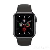 ساعة ابل الجيل الخامس Apple Watch series 5 ب 1799 ريال .
