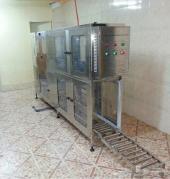 خط إنتاج (مكينة تعبئة مياه أوتوماتيكية) صينية