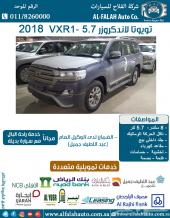 تويوتا لاندكروزر VXR1 5.7 AT جلد (سعودي)2018