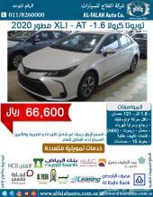 كرولا 1.6-XLI مطور (سعودي) 2020 ب 66600 ريال