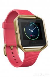 ساعة رياضية Fitbit Blaze مطلية بذهب 22k