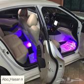 زين داخلية سيارتك باضاءة LED