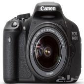 كاميرا كانون 600D canon