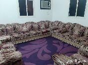 شقه 3 غرف مفروشه دور اول للايجار الشهري