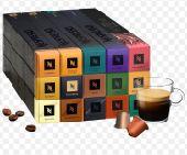 كبسولات قهوة نسبريسو متنوعه متوافقة مع مكائن
