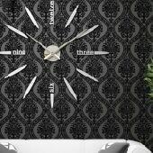 ساعات حائط جدارية ثلاثية الأبعاد 3D الأصلية
