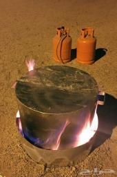 برميل مندي الحجاز صحي جدا على الغاز