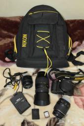 للبيع كاميرا نيكون 3200 شاتر 260 صورة فقط