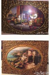 ثلاث لوحات ملكيه فخمه