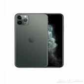 هاتف ابل ايفون 11 برو ماكس مع فيس تايم بشريحة واحدة وشريحة
