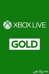 اشتراك XBOX LIVE GOLD وبطاقات استور والعاب