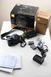 للبيع كاميرا d90 مع عدسه 24-85