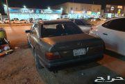 سيارة مرسيدس 92 للبيع