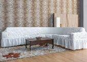 تلبيسات كنب وكراسي طاولة ومفارش سرير