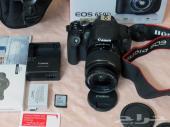 للبيع كاميرا كانون احترافية   650دي شاشة لمس