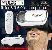 نظاراه Vr box الواقع الافتراضي مع ريموت