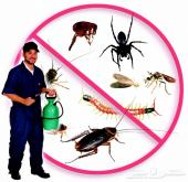 مكافحة حشرات صراصير نمل بق فئران وزغ عقارب