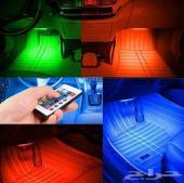 لمبات إضاءة ليد متعددة ألالوان بريموت للسياره