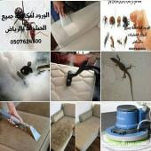 شركة تنظيف خزانات منازل مجالس رش مبيدات حشريه