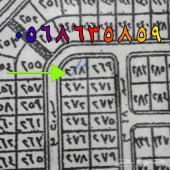 ارض زاويه للبيع في مخطط122مساحه1187متر