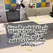 شركة تعقيم بالمدينة المنورة منازل فلل مساجد