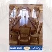 تفصيل طاولات طعام طاولات اجتماع مودرن وكلاسيك وبديل الرخام