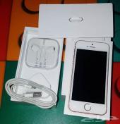 ايفون اي اس للبيع iPhone se 64 لون ذهبي وردي