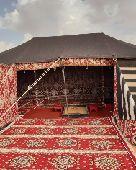 مخيم في روضة خريم للايجار اليومي والاسبوعي