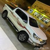 هايلكس2017سعودي أبيض لؤلؤي فل كامل للبيع