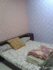 شقة عوائل غرفتين وصالة السطح باليرموك