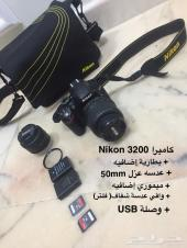 للبيع كاميرا Nikon D3200