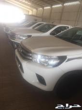 تويوتا هايلكس غمارة بنزين 2018 GL سعودى