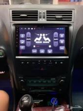 شاشه لكزس GS اندرويد اصدار 10 رام4 هاردسك 64