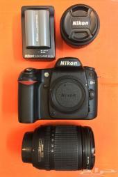 نيكون Nikon D80 إضافة إلى عدسات Nikkor