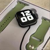 ساعه ابل الاصدار5 ساعات واتش Apple Watch ضمان سنه سعر80