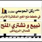 مخطط الخير شمال الرياض 0555206704