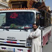 نقل بضاع من جده إلى رياض  سعيدباكستاني