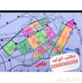مخطط الخير والامراء والدكاترة شمال الرياض