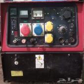 عدد 5 مولدات كهرباء ديزل مع مكينة لحام 2 في1