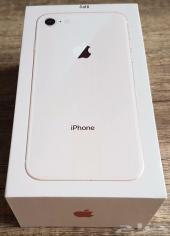 ايفون 8 عادي 256 جيجا فضي للبيع