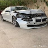 بي ام دبليو BMW 640 مصدومه