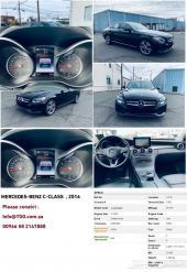 أفخم السيارات - مرسيدس فئة C   موديل 2016