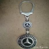 ميدالية مفاتيح  quot  فضة quot  عليها شعار مرسيدس