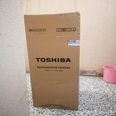 ثلاجة توشيبا 14قدم للبيع جديده