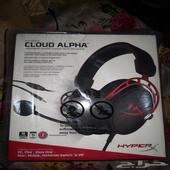 سماعة hyperx cloud alpha جديدة