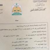 للبيع قطعتين سكنية محافظة العقيق 943 م _ 690م
