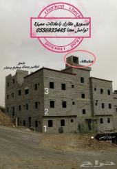 للبيع عمارة سكنية مدينة الباحة 681م