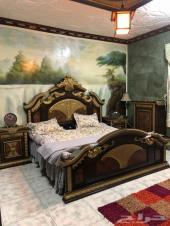 غرفة نوم كامله للبيع شبه جديده